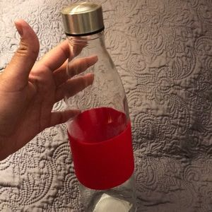 32Oz Glass travel water bottle .New